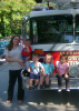 A visit from the Clermont Fire Dept
